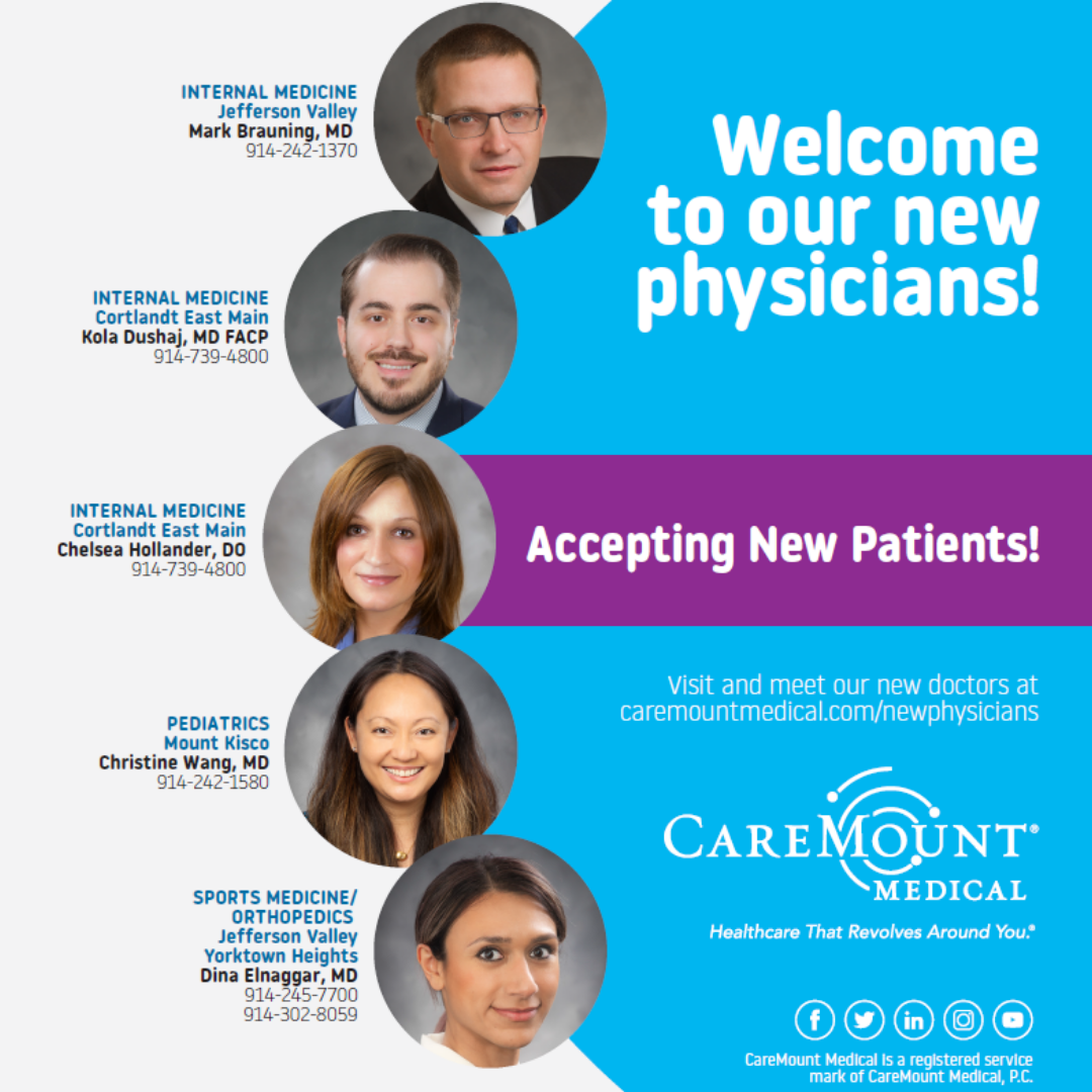 New Physicians January 2019
