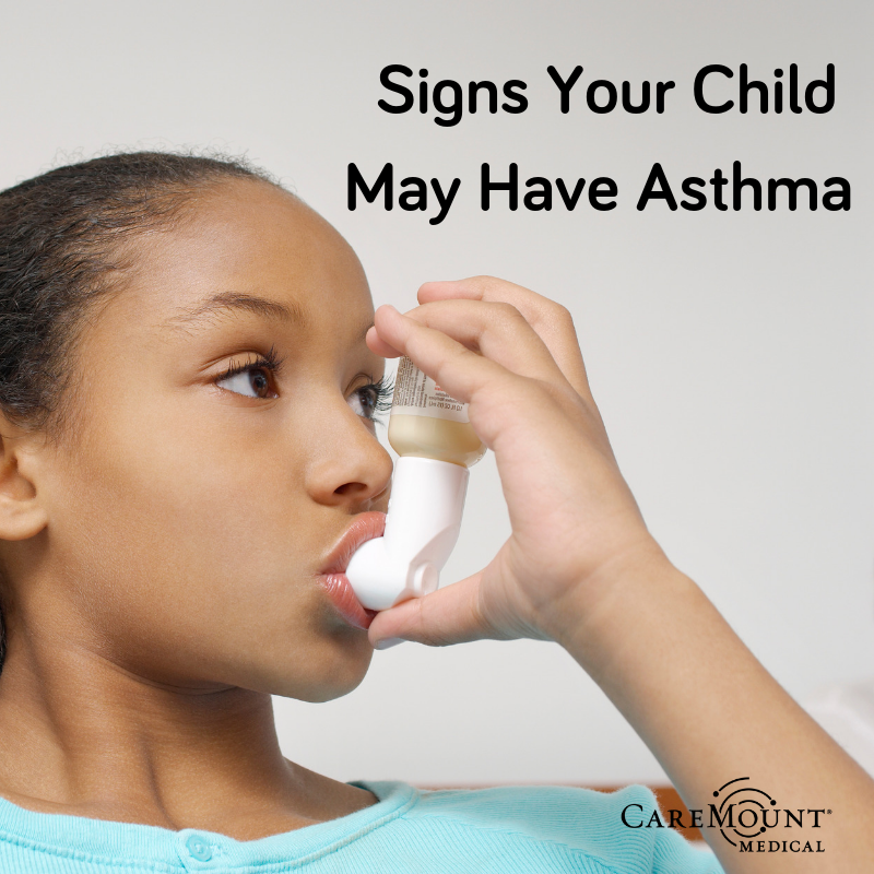 signs your child may have asthma