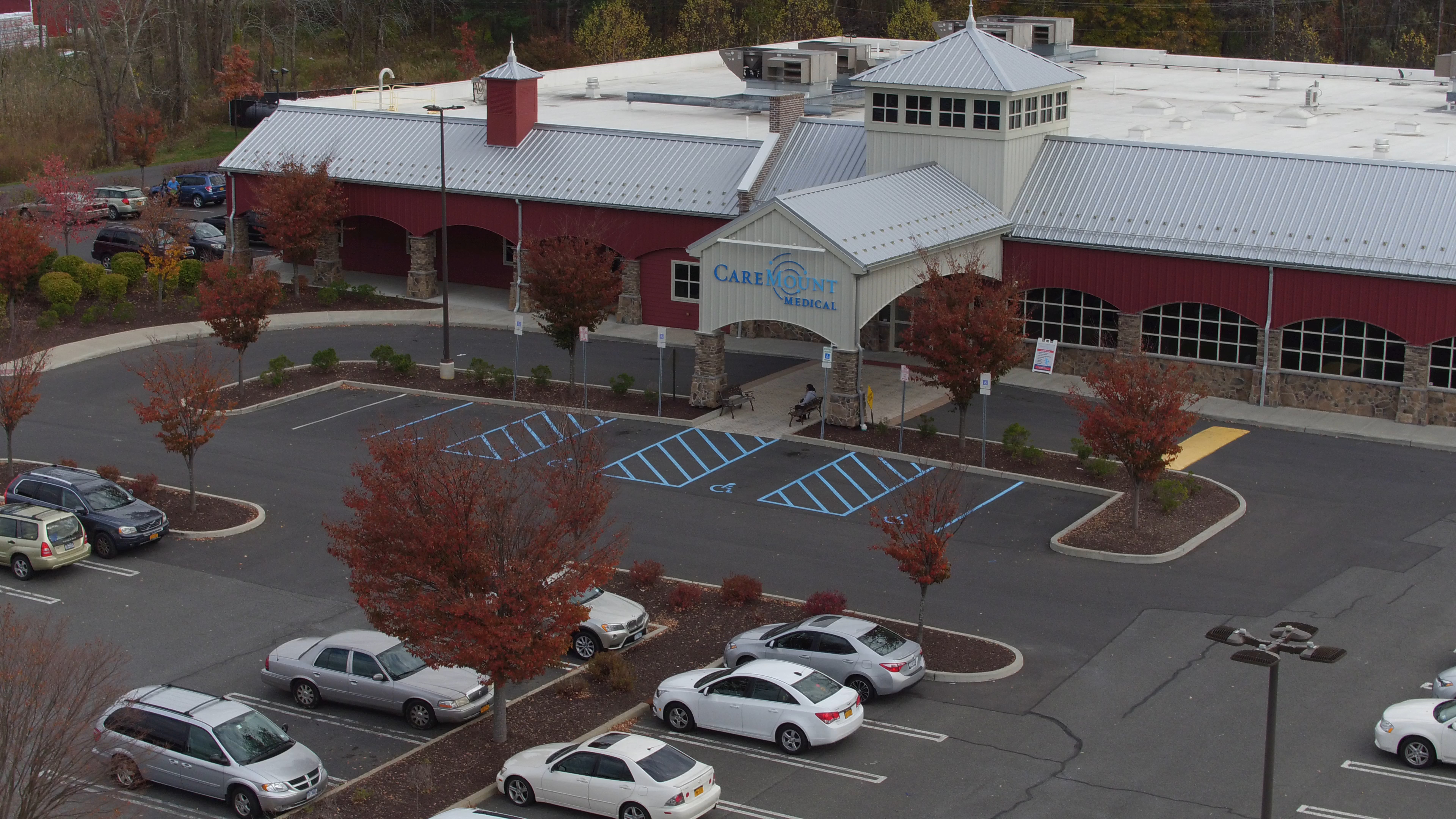 Aerial View of the Rhinebeck Medical Office Building