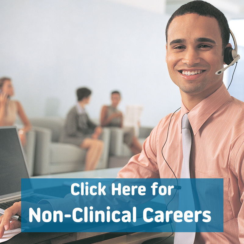 Click here for non-clinical careers