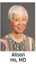 Click here for information on Alison Ho, MD