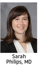 Click here for information on Sarah Philips, MD