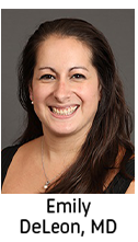 Click here for information on Emily DeLeon, MD